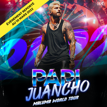 MALUMA – PAPI JUANCHO WORLD TOUR 2022 – FRANCE